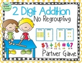 Two Digit Addition No Regrouping 1.NBT.4 and 2.NBT.5