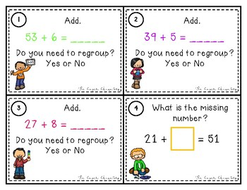 Adding Two-Digit Numbers Scoot