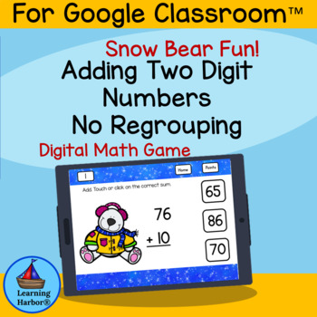 Adding Two Digit Numbers Without Regrouping