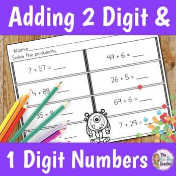 Adding Two Digit and One Digit Numbers.