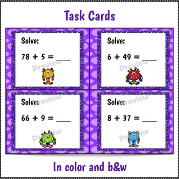 Double Digit Addition Activities