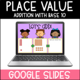 Adding Two Digit Numbers with Base 10 Blocks | Google Slides