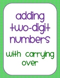 Adding Two-Digit Numbers with Carrying Over