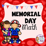 Adding Two Digit and One Digit Numbers Memorial Day