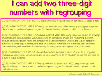 Addition with Regrouping for PROMETHEAN Board
