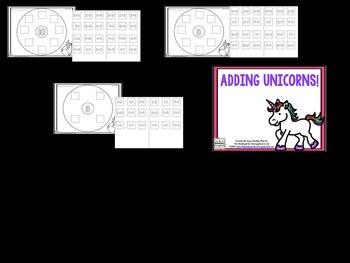 Adding Unicorns: A Differentiated Addition Activity