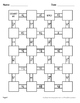 Adding Unlike Fractions Maze