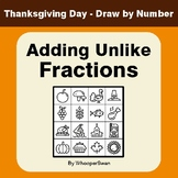 Thanksgiving Math: Adding Unlike Fractions - Math & Art -