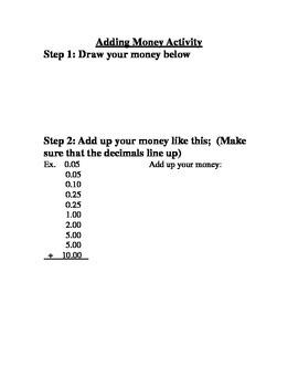 Adding Up Money