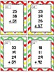 Back to School Themed Adding Up to 4 Two-Digit Numbers Task Cards & Game 2.NBT.6