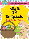 Easter Themed Adding Up to 4 Two-Digit Numbers Task Cards & Game 2.NBT.6