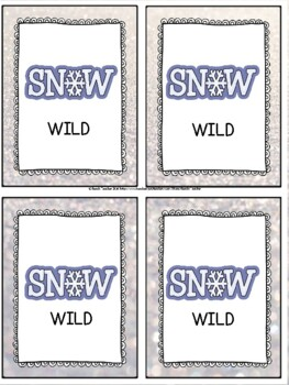 Adding Up to 4 Two-Digit Numbers Task Cards & Game (WINTER)