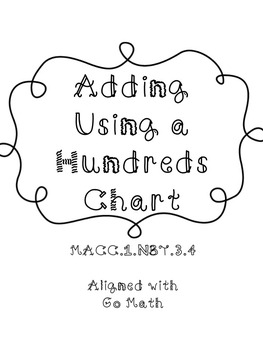 Adding Using a Hundred Chart Go Math MACC.1.NBT.3.4