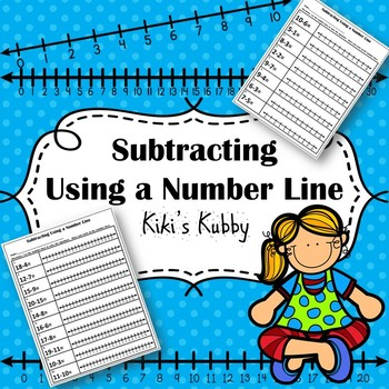Subtracting Using a Number Line