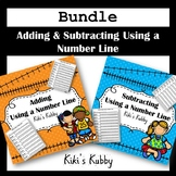 Bundle Adding and Subtracting Using a Number Line