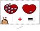 Adding Valentine Cupcakes: An 1 - 10 interactive adding activity