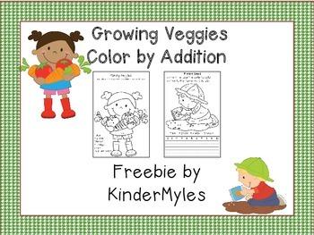 Adding Veggies {Freebie}