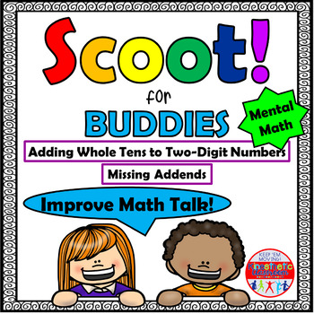 Mental Math Adding Whole Tens to Two-Digit Numbers - Scoot