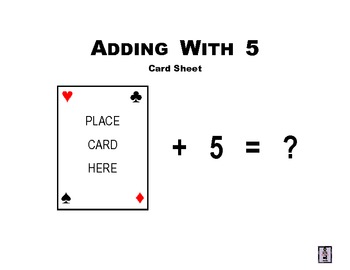 Adding With 5