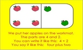 Adding With Apples flipchart