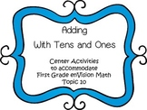 Adding With Tens and Ones - First Grade enVision Math