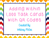 Adding Within 1,000 QR Code Task Cards
