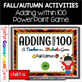 Adding Within 100 - Fall Edition - Powerpoint Game