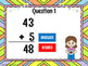 Adding Within 100 - Spring Edition - Powerpoint Game