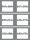Adding Within 1,000 (With Regrouping) Task Cards