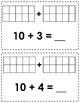 Adding Within 10-20 Math Center