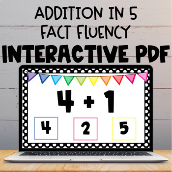 Adding Within 5 Interactive PDF