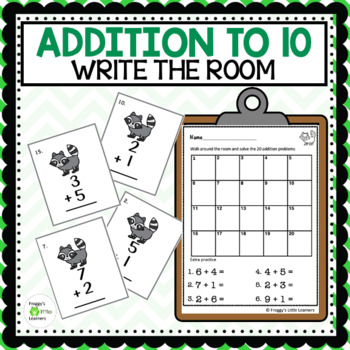 Adding Write the Room - Sums 0-10