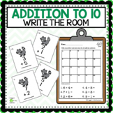 Adding Write the Room  Sums 0 to 10
