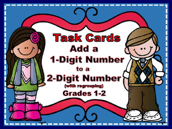 Adding 1-Digit Numbers to 2-Digit Numbers