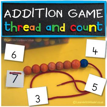 Adding activity - adding with beads
