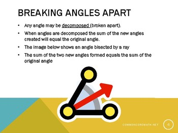 Adding and Subtracting Angles Presentation - 4.MD.7