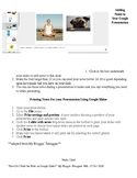 Adding and Printing Notes for Your Google Presentation