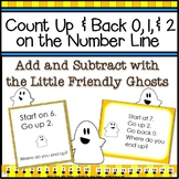 Halloween Addition and Subtraction | Number Line Activities