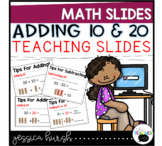 Adding and Subtracting 10 and 20 Slides