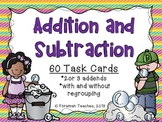 Adding and Subtracting 2 or 3 Digit Numbers
