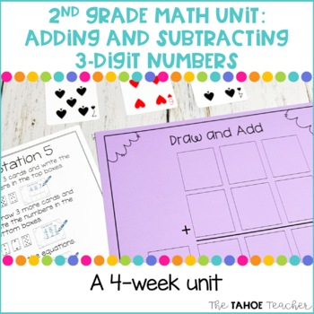 Adding and Subtracting 3-Digit Numbers   A 2nd Grade Math Unit