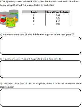 Adding and Subtracting 3 Digit Numbers Quiz