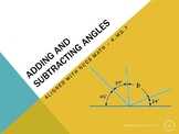 Adding and Subtracting Angles Full Lesson Bundle - 4.MD.7