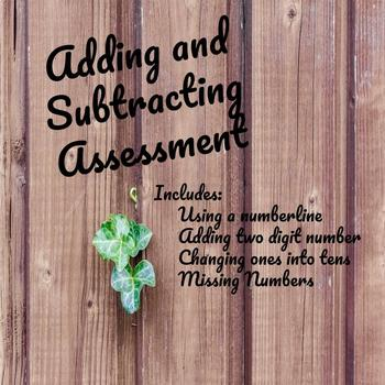 Adding and Subtracting Assessment