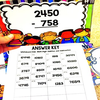 Adding and Subtracting August Math Center