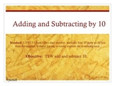 Adding and Subtracting By 10 (CC 1.NBT.5)