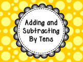 Adding and Subtracting By Tens on the Number Line