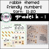 Adding and Subtracting Center: Feed the Bunny
