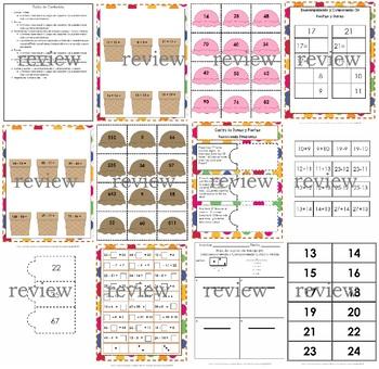 Adding and Subtracting – Centro Sumas y Restas - Componer y descomponer números
