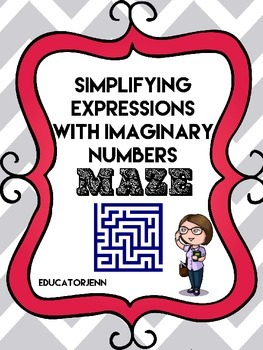 Adding and Subtracting Complex Numbers Maze